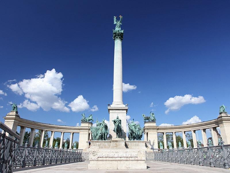 Budapest-Statue