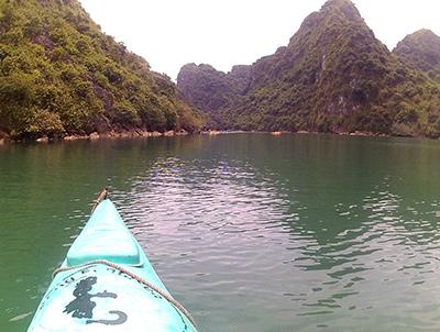 Kayaking in Ha Long Bay Video