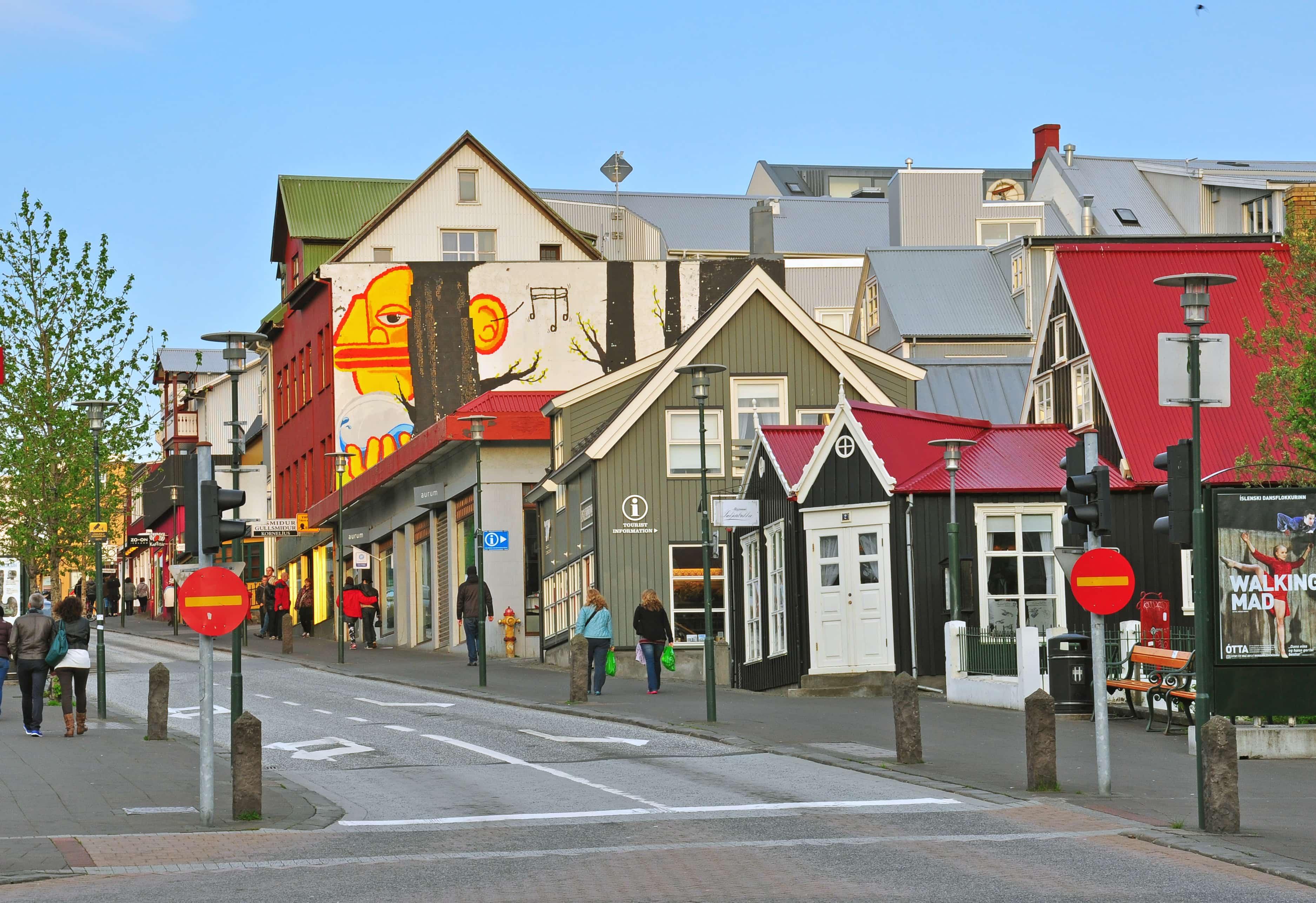 Downtown Reykjavik Scandinavia Snapshot guide