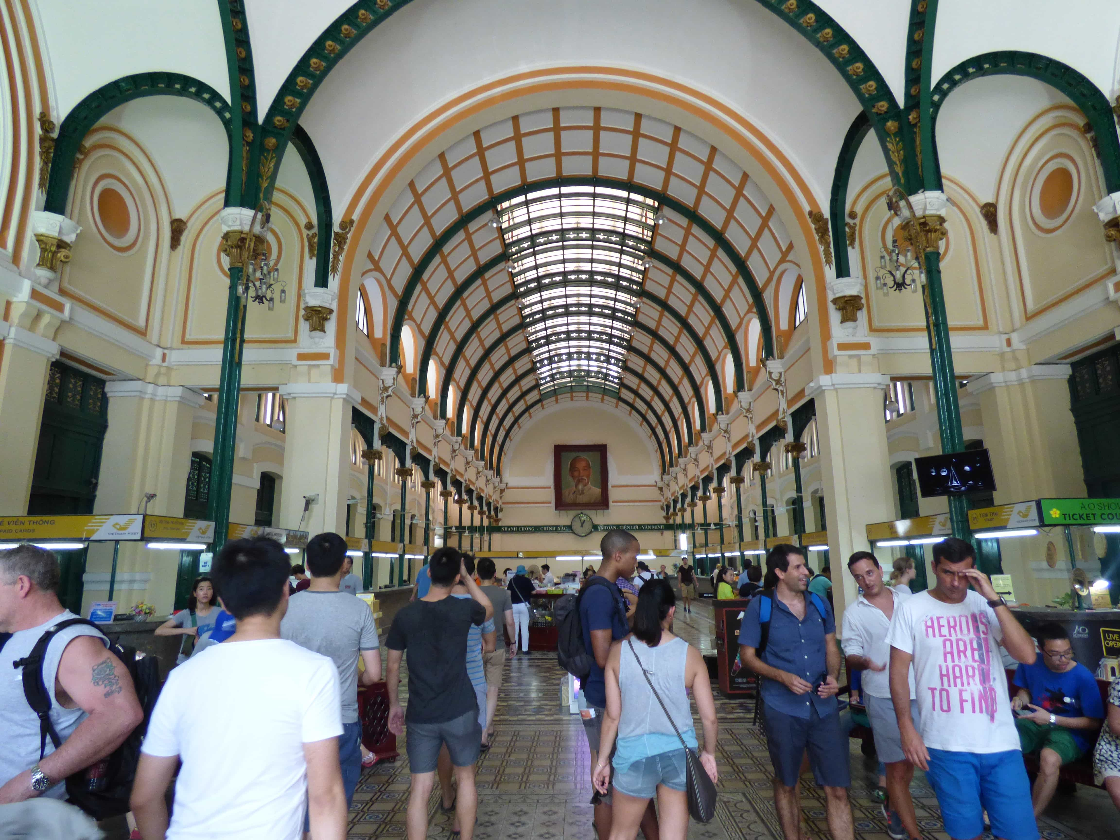 post office - 72 hours in HCMC