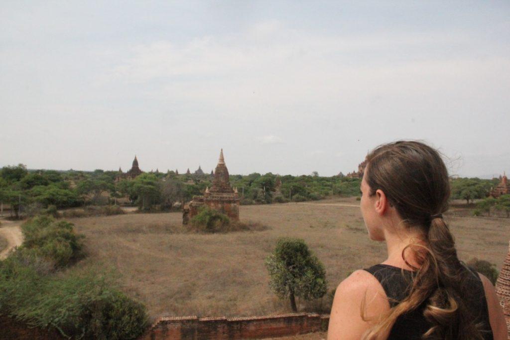 Exploring Temples In Bagan Myanmar