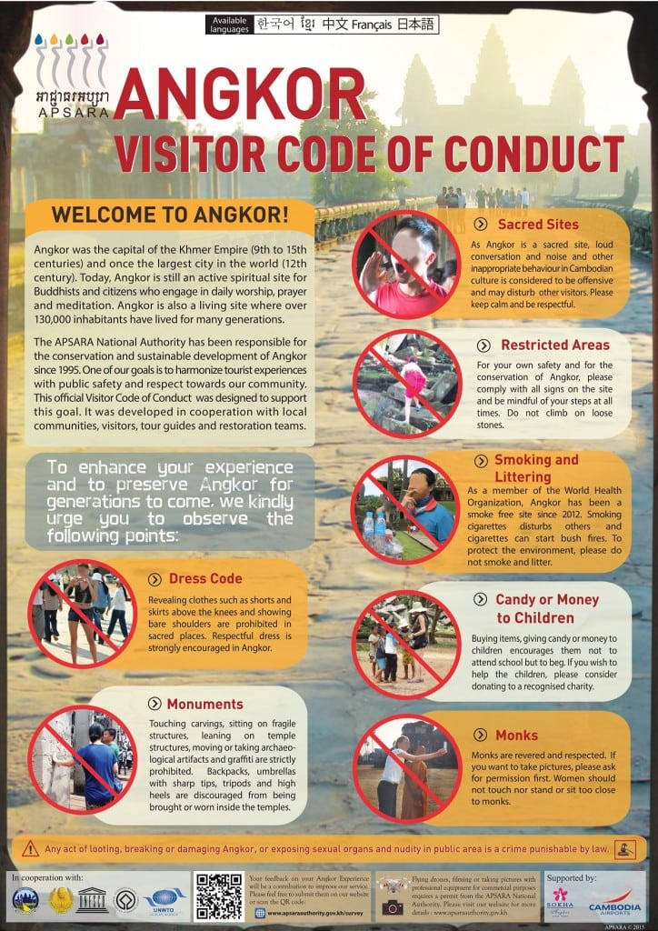 Angkor Code of Conduct