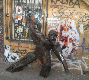 Street Art Sculpture Berlin