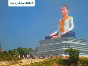 Buddha on Bokor Hill