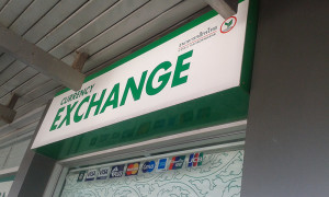 Poipet border currency exchange