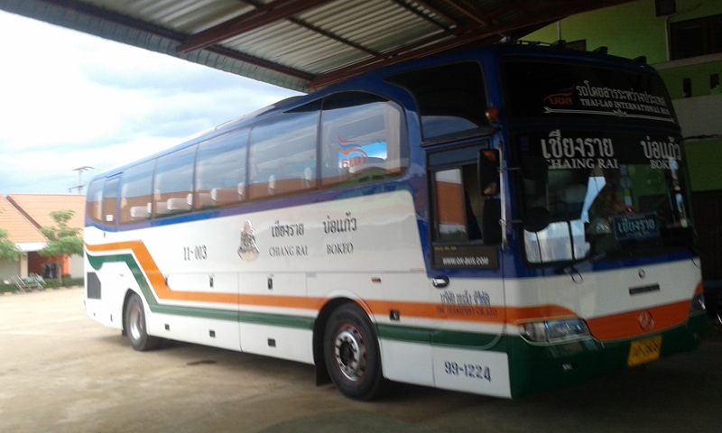 Huay Xai to Chiang Rai International Bus