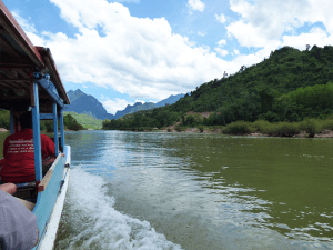 Muang Khua to Muang Ngoi Boat Journey
