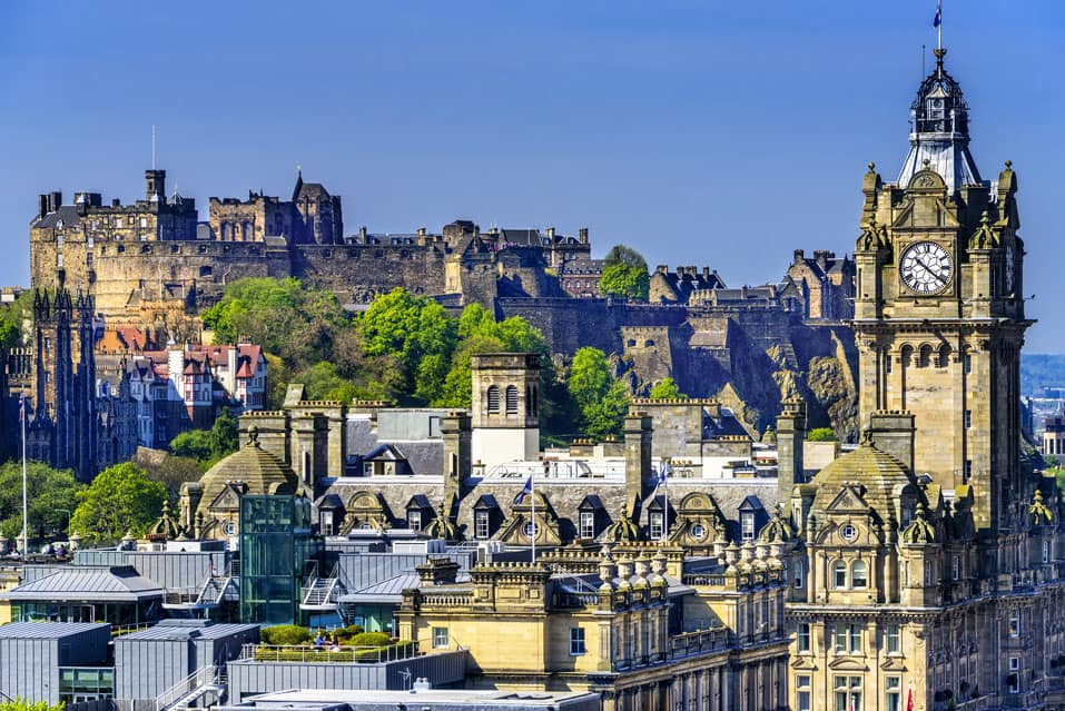Things You Can Do While You Travel From East Midlands to Edinburgh